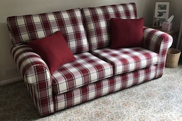 A satisfying reupholstery pattern-matching job