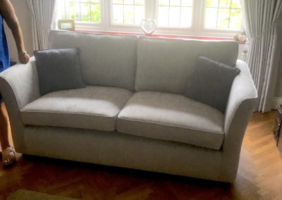 Cristina Marrone Craig lodge upholstery brentwood silver