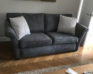 Cristina Marrone Craig lodge upholstery brentwood charcoal