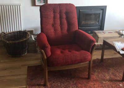Re-upholstery Craig Lodge Brentwood