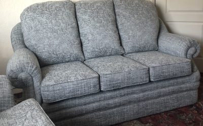 Modernising a three-piece sofa