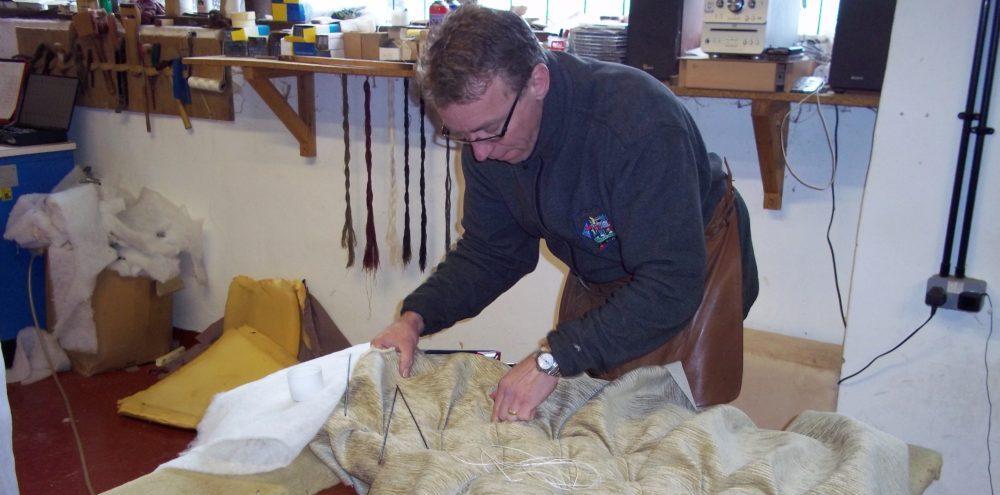 Richard bull working